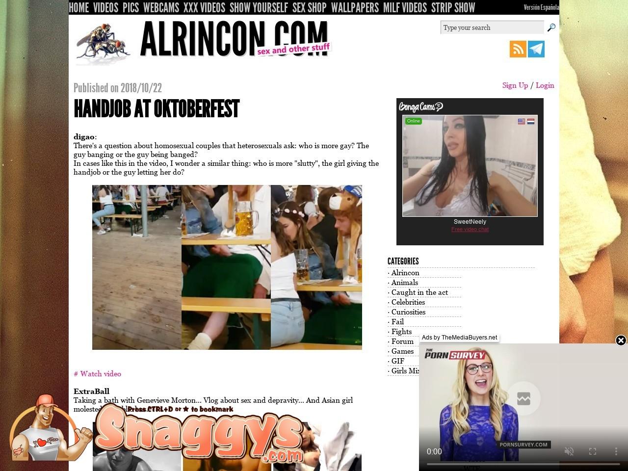 Al Rincon Porno alrincon - alrincon - snaggys best porn sites