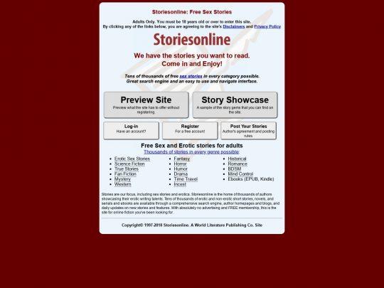 sex-stories-sites - StoriesOnline