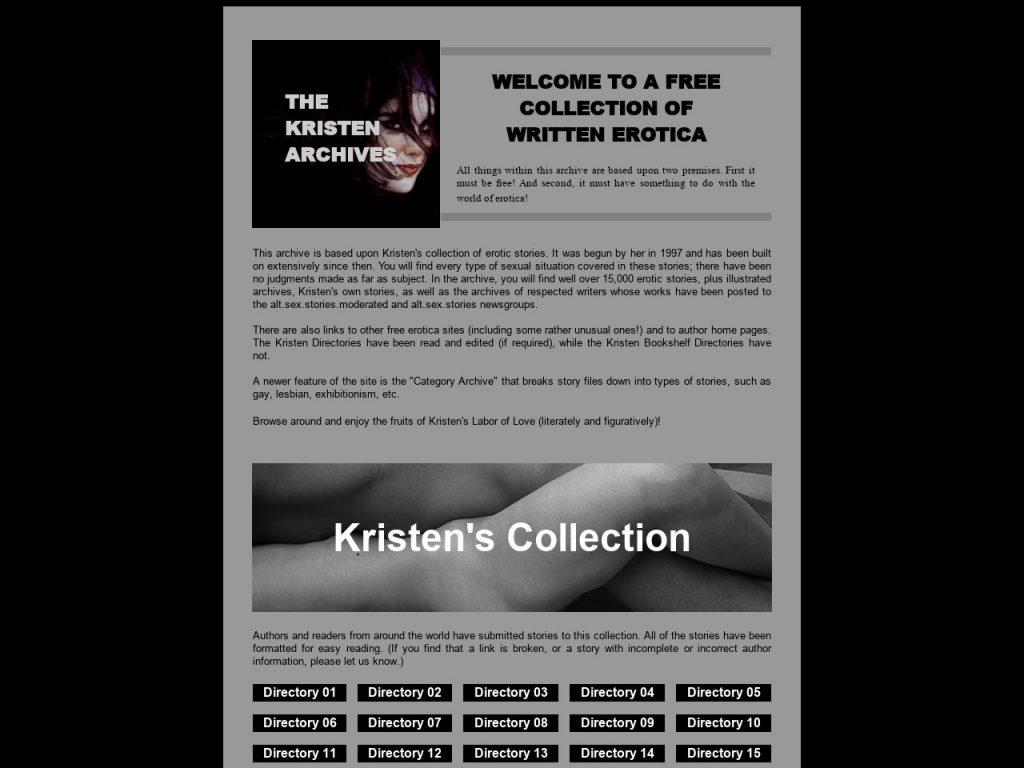 Free Sex Stories By Kristen