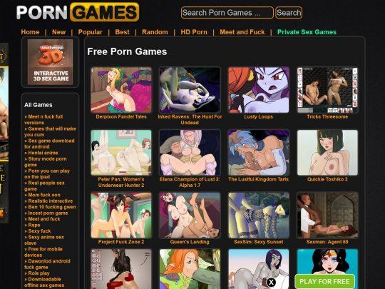 PornGames