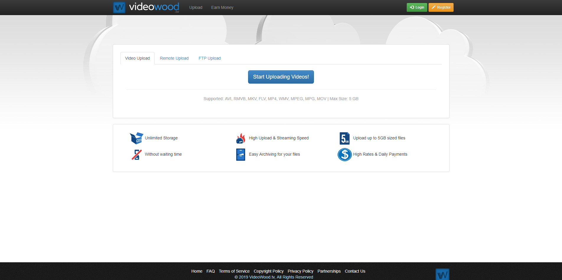 VideoWood.tv - Host and Watch Videos Online